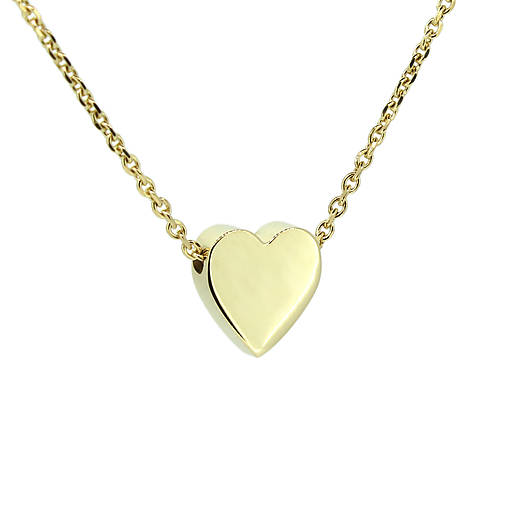 f21bee7c3 Zlatý náhrdelník so srdiečkom / GoldHands - SAShE.sk - Handmade ...
