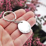 Doplnky - Kľúčenka oci, ľúbime ťa zľava 3€ - 10000662_