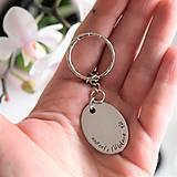 Doplnky - Kľúčenka oci, ľúbime ťa zľava 3€ - 10000666_