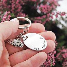 Doplnky - Kľúčenka oci, ľúbime ťa zľava 3€ - 10000661_