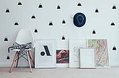 Dekorácie - Nálepky na stenu - škandinávsky štýl - Kopce - 9997984_
