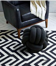 Úžitkový textil - Pletený vankúš - 10000426_