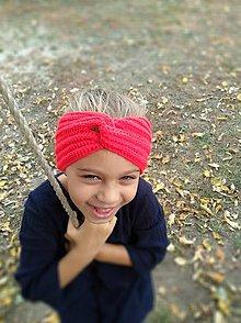 Detské čiapky - Čelenka - SLZA - 10004213_