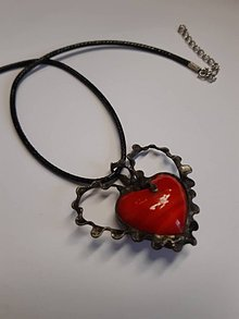 Náhrdelníky - Srdce . - 10002209_