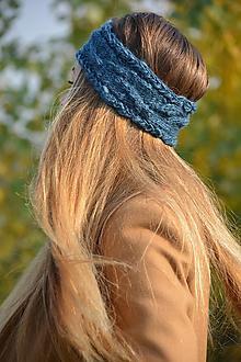 Ozdoby do vlasov - v petrolejové - 10001385_