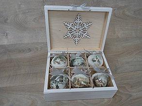 Dekorácie - Vianočné gule - 10002642_