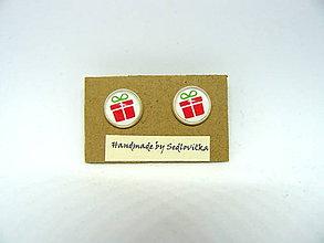 Náušnice - Vianočný balík - 10002185_
