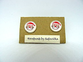 Náušnice - Santa - 10004171_
