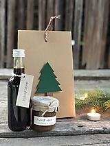 """Potraviny - Vianočná darčeková krabička """"basic"""" - 10003837_"""