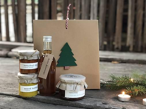 Potraviny - Vianočná darčeková krabička