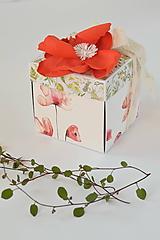Papiernictvo - Narodeninový exploding box- lúčny - 10001752_