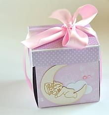 Papiernictvo - Exploding box narodeniu dievčatka - 10001741_