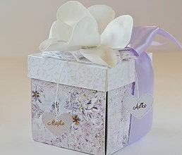 Papiernictvo - Svadobný exploding box - 10001761_