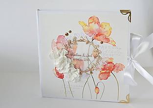 Papiernictvo - Svadobný album- tulipány - 10001820_