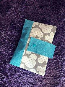 Detské doplnky - Plienkovník (obal na plienky) (Modrá) - 10002683_