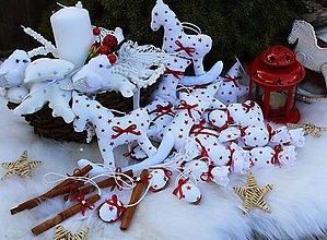 Dekorácie - Vianočné ozdôbky na stromček-hviezdičkové.. - 10002776_