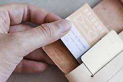 Peňaženky - Kožená peňaženka BOTANIC (reálna papraď) - 10002291_
