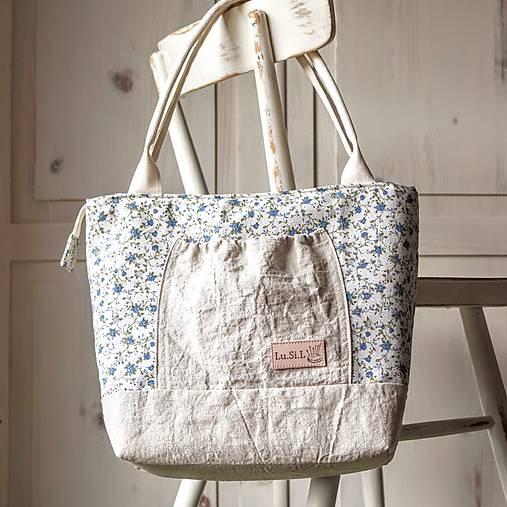 Ľanovo-plátenná kabelka