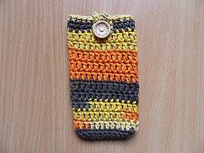 Na mobil - Púzdro na dotykový mobil (Oranžová) - 10001639_