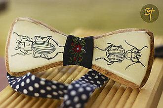 Doplnky - Drevený motýlik - Carabidae - 10004243_