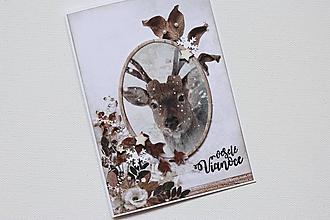 Papiernictvo - Vianočná pohľadnica - 10003620_