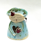 Svietidlá a sviečky - vonná lampa  mačka - 10001959_