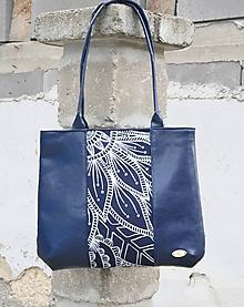 Veľké tašky - Malvína modrá 2 AM - 10002449_
