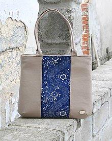 Veľké tašky - Malvína béžová MM - 10002458_