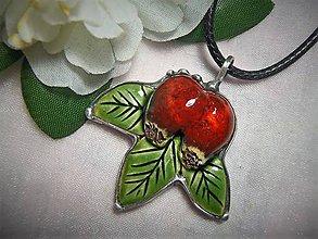 Náhrdelníky - keramika ...šípky - 10004370_