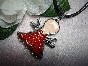 Náhrdelníky - keramika ...anjelik - 10004393_