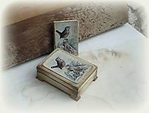 Krabičky - Krabička so zápisníkom - 10003397_