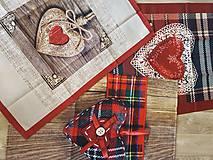 Úžitkový textil - utierky alebo panely na ušitie vankúšov - 10002482_