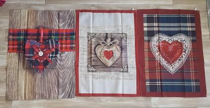Úžitkový textil - utierky alebo panely na ušitie vankúšov - 10002481_