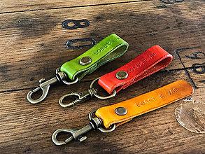Kľúčenky - toast & jam prívesok na kľúče s logom toast & jam (Oranžová) - 10004943_