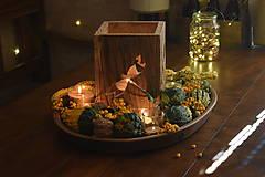 Svietidlá a sviečky - Lampáš - vážka - 10006293_