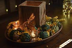 Svietidlá a sviečky - Lampáš - vážka - 10006318_