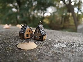 Náhrdelníky - Rozprávkový domček - náhrdelník - 10006785_