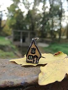 Náhrdelníky - Rozprávkové domčeky - Halloween - 10007443_