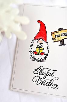 Papiernictvo - Vianočný škriatok - 10005697_