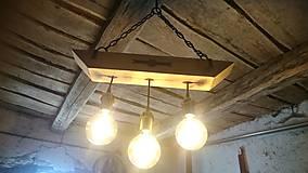 Svietidlá a sviečky - Luster trojitý. - 10007158_