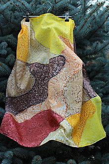 Šatky - silk scarf_hodvábna šatka - 10006807_