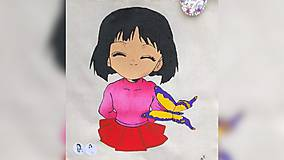 Iné tašky - ♥ Plátená, ručne maľovaná taška ♥ - 10006747_