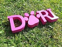 Pre zvieratká - 3D Meno na búdu pre psíka: Shitzu - 10006456_
