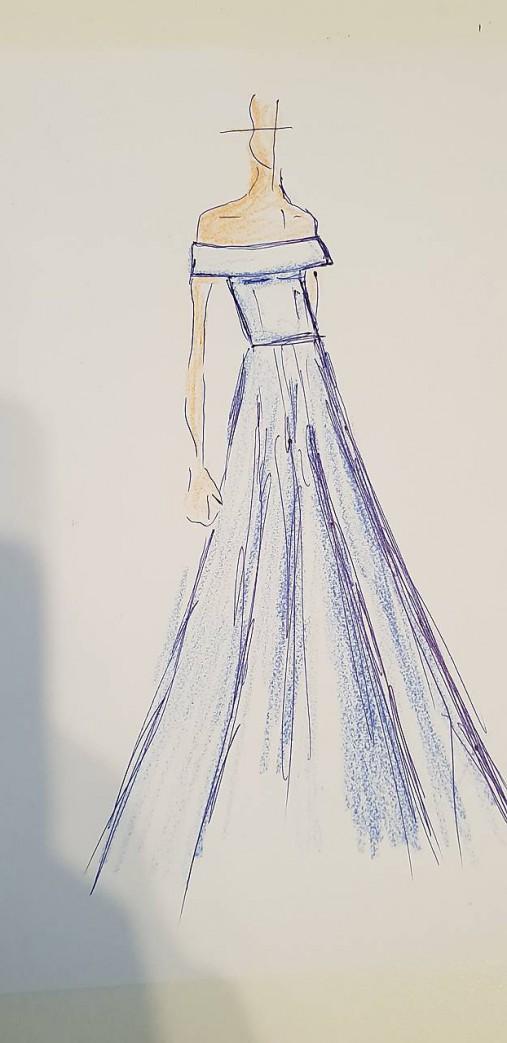 Svadobné šaty pre Natalia   Dyona - SAShE.sk - Handmade Šaty 57e8fa03518