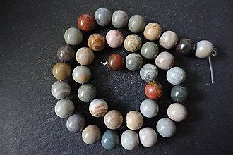 Minerály - Jaspis obrázkový f. 10mm - 10007136_