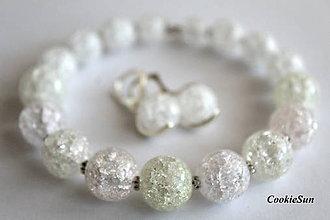 Sady šperkov - Popraskaný Krištáľ  (Sada 2) - 10007669_