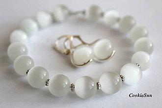 Sady šperkov - White Elegance (Sada 1) - 10007678_