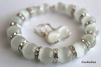 Sady šperkov - White Elegance (Sada 2) - 10007681_