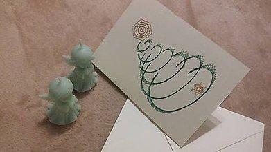 Papiernictvo - Pohľadnica - Vianočný stromček - 10007024_