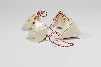 Papiernictvo - Darčekové krabičky - vianočné - 10006171_
